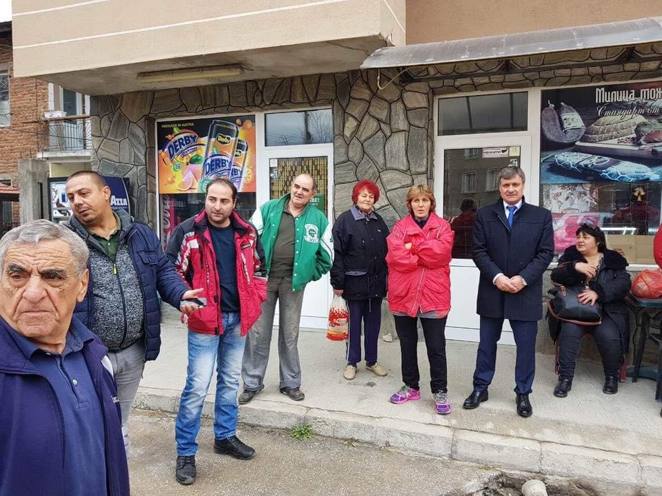 """Г-н Коев: Днес направих инспекция на улиците """"Милеви Скали """" и """"Георги Кирков""""."""