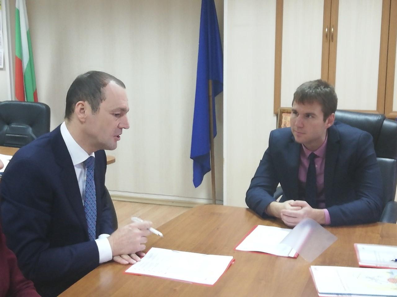 Областният управител на Пазарджик се срещна с ръководството на EVN България