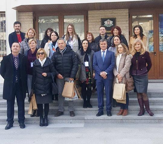 """Община Велинград посрещна гости от пет европейски страни по програма """"Еразъм+"""""""