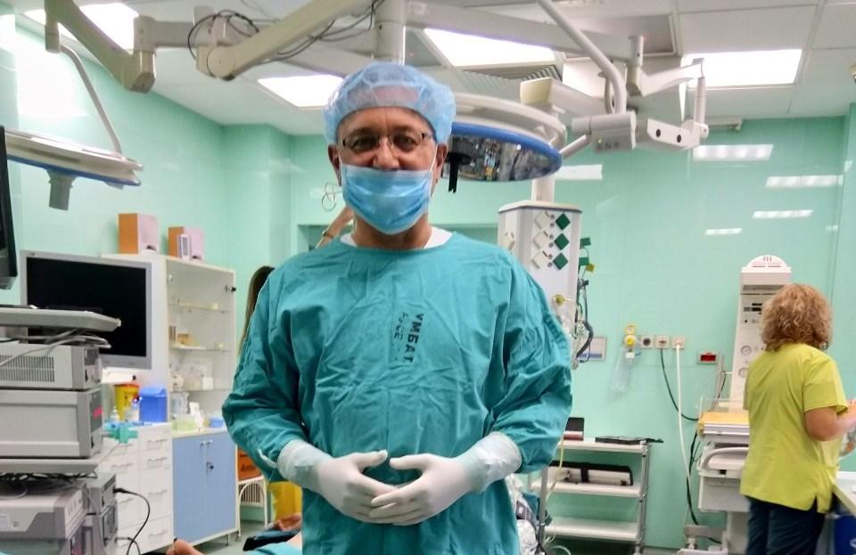 Наш гинеколог с операция без аналог в Европа – въвежда J-плазма