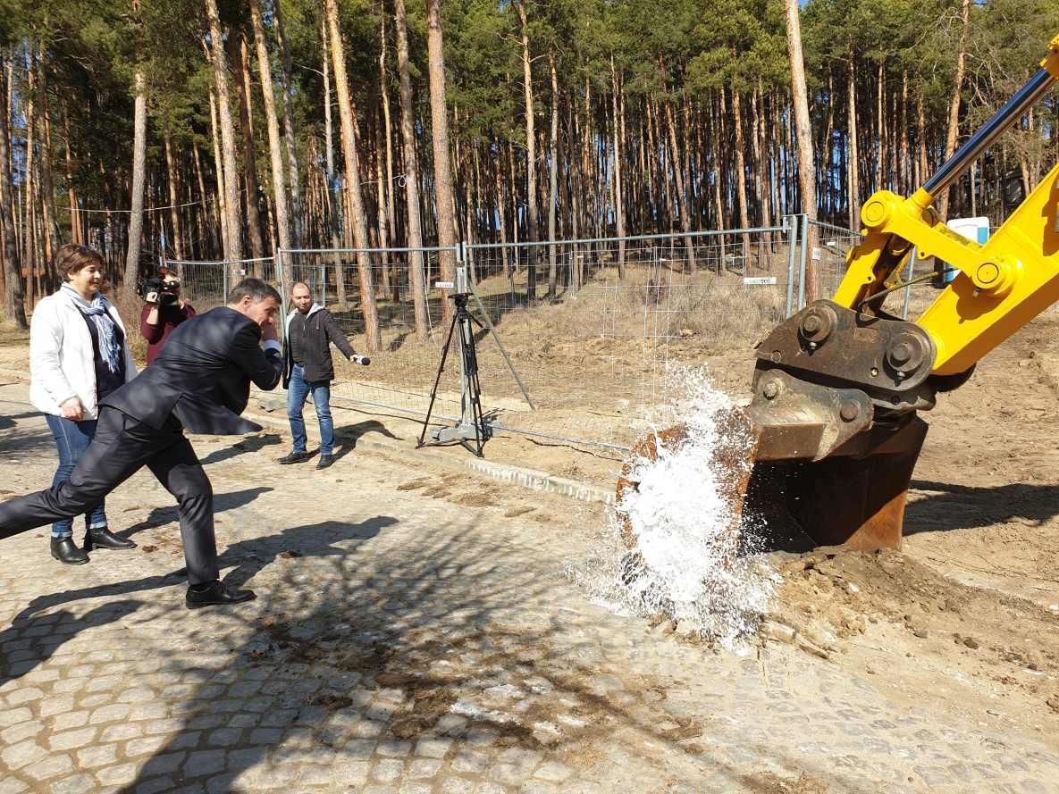 """""""Първа копка"""" дава началото на нов мащабен проект за преобразяването на Велинград"""
