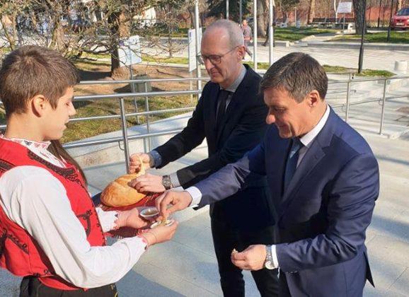 Пълномощен министър Йорк Шюграф бе на посещение във Велинград
