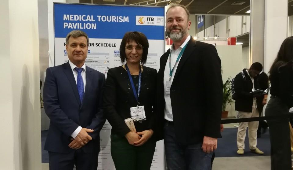 Кметът д-р Коев представи туристическа дестинация Велинград на ITB-Берлин 2019