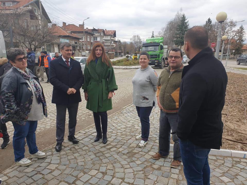 """Днес стартира Проект """"Реконструкция и подмяна на водопроводната мрежа по улици на Велинград"""