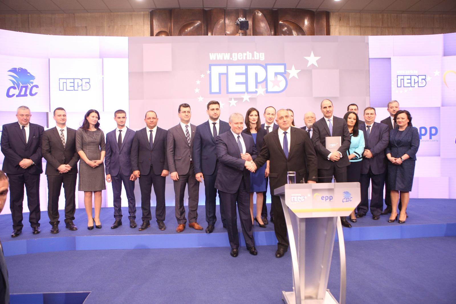 Мария Габриел е водачът на листата на ГЕРБ и СДС за европейските избори