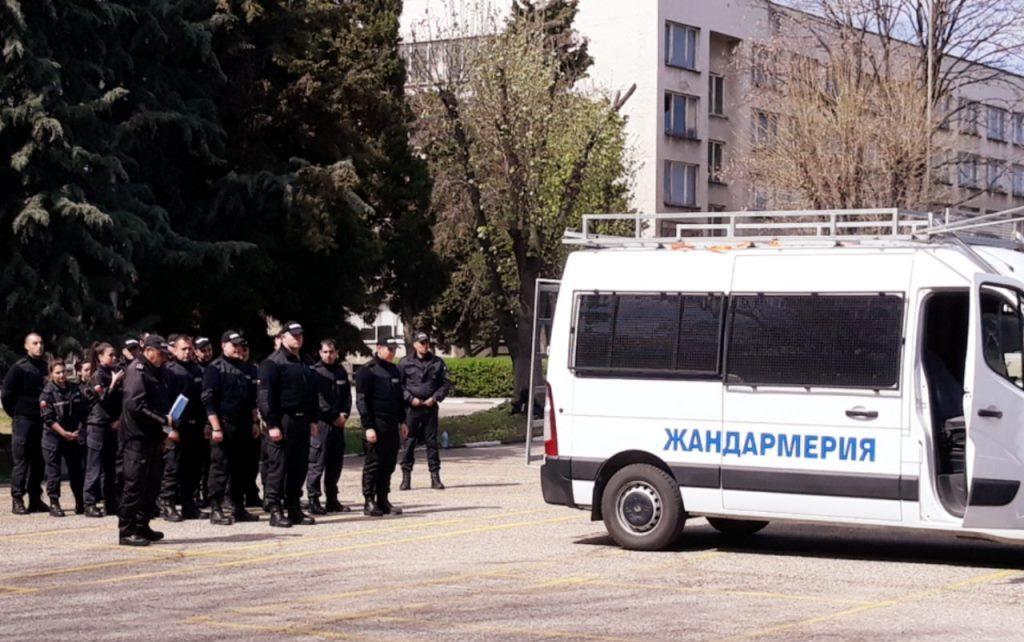 Служители от Зонално жандармерийско управление –Пловдив участваха в практическо занятие на стажанти в ЦСПП-Пазарджик при Академията на МВР.