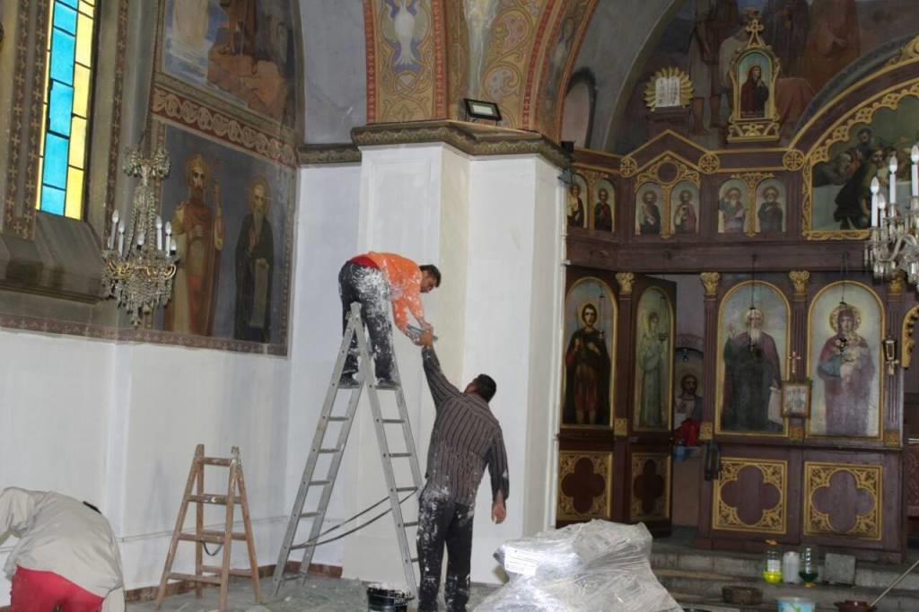 """Ремонтират църквата """"Свети Пророк Илия"""" в с.Дорково"""
