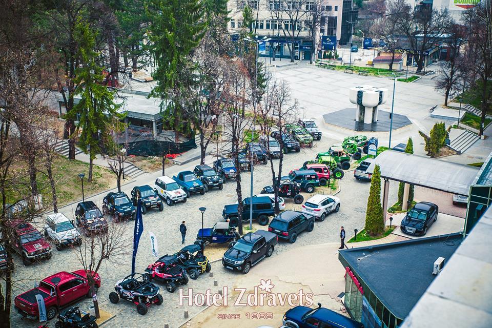 Хотел ЗДРАВЕЦ подари 6 ваучера за почивка на финалистите от OFF ROAD VELINGRAD 2019