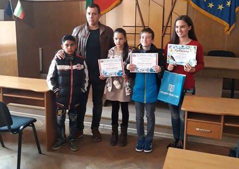 """Наградиха участниците в конкурса""""Аз и природата"""" за """"Часът на земята"""""""