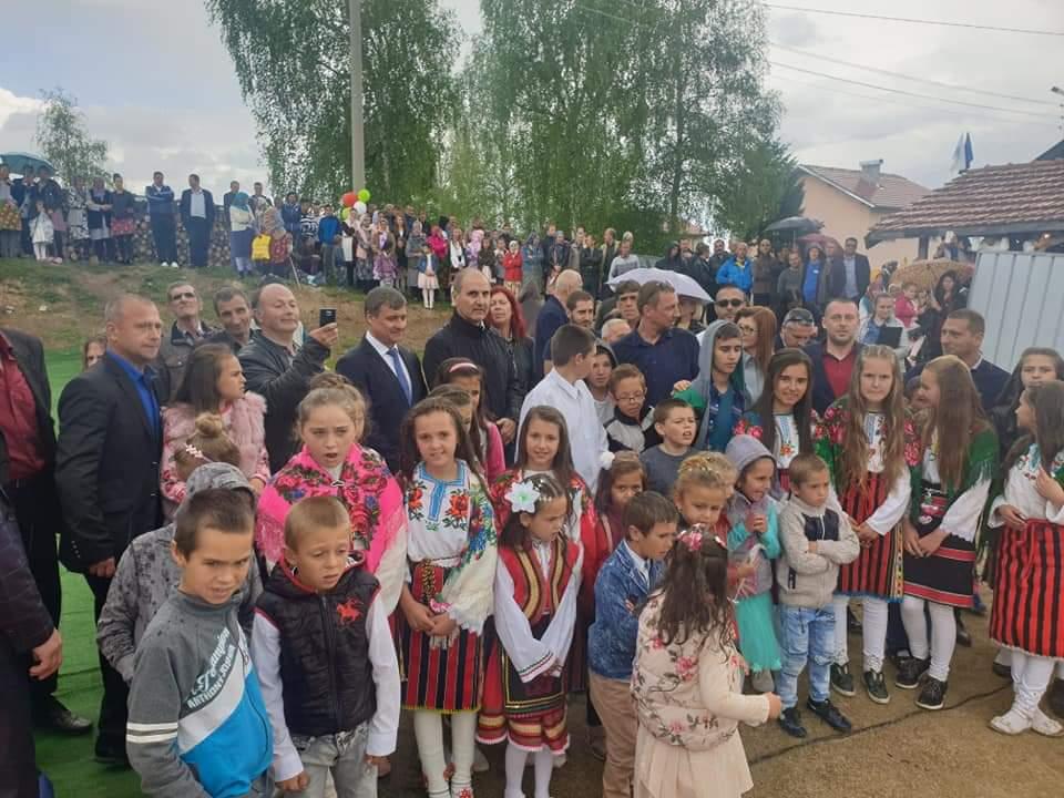 Бе направена първа копка за изграждане на ново училище в с. Биркова