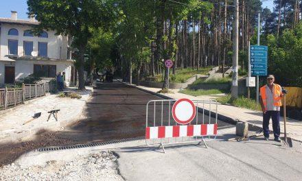 """Цялостната реконструкция на ул. """"Тошо Стайков"""" приключва"""