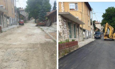 Поредната възстановена улица във Велинград