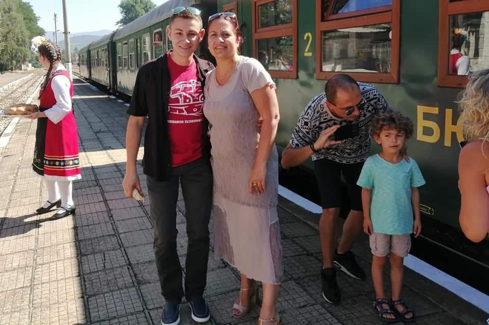 Велинград посрещна малкото влакче