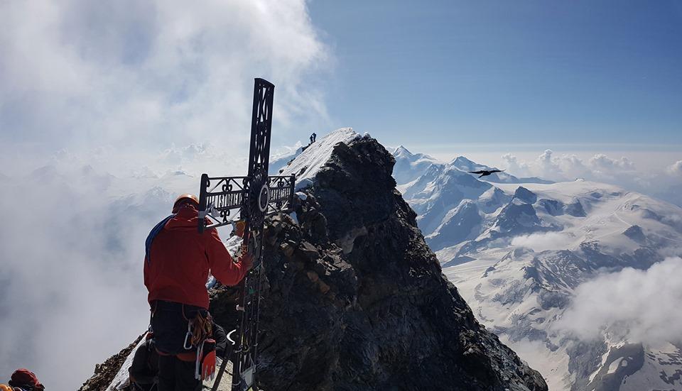 """""""Велинград изкачва върхове"""" – това афишира Ивайло Велибашев след като изкачи един от най-трудните върхове в света"""