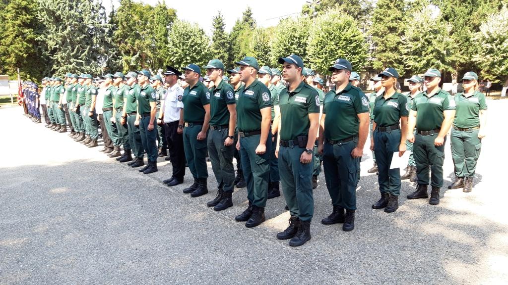 """82 стажанти от Главна дирекция """"Гранична полиция"""" положиха клетва за спазване на Етичния кодекс за поведение на държавните служители в МВР"""