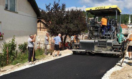 Инфраструктурата в малките населени места в община Велинград продължава да се подобрява