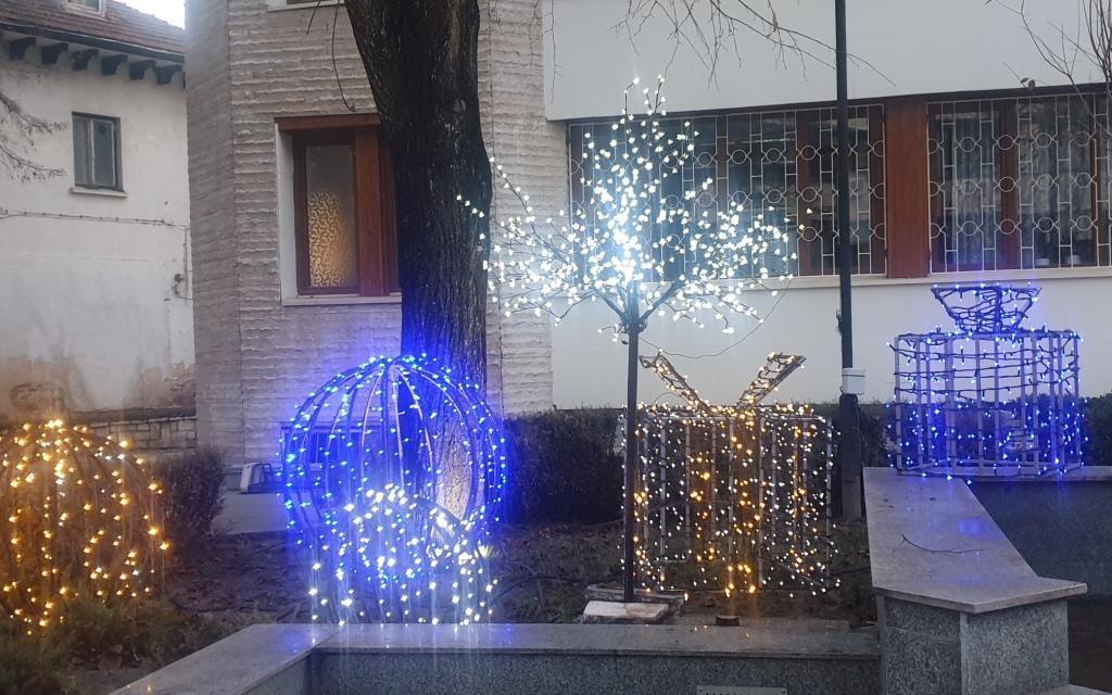 Коледната украса ще засияе в пълния си блясък на 4 декември