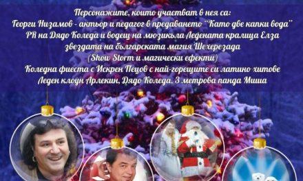 На 4 декември тържествено ще бъдат запалени светлините на Коледната елха
