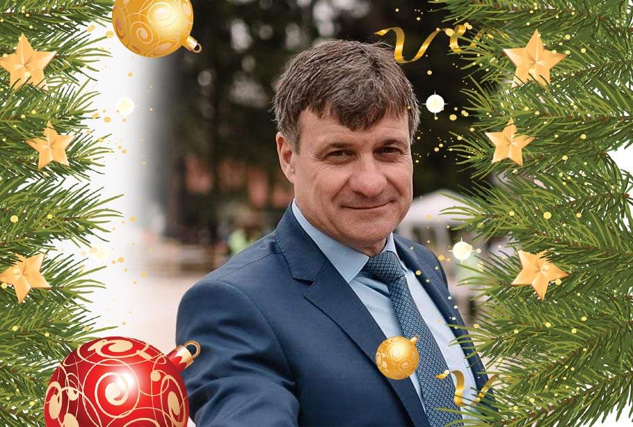Поздравителен адрес от кмета на община Велинград д-р Костадин Коев по повод предстоящите Коледни и Новогодишни празници