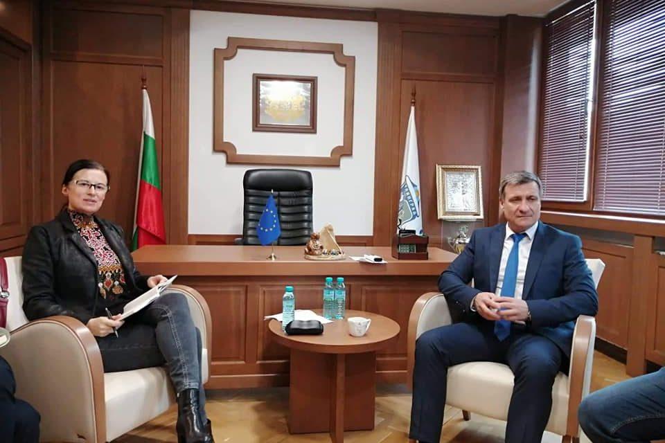 Ползотворна среща на д-р Коев с видепрезидента на ESPA Сийка Кацарова