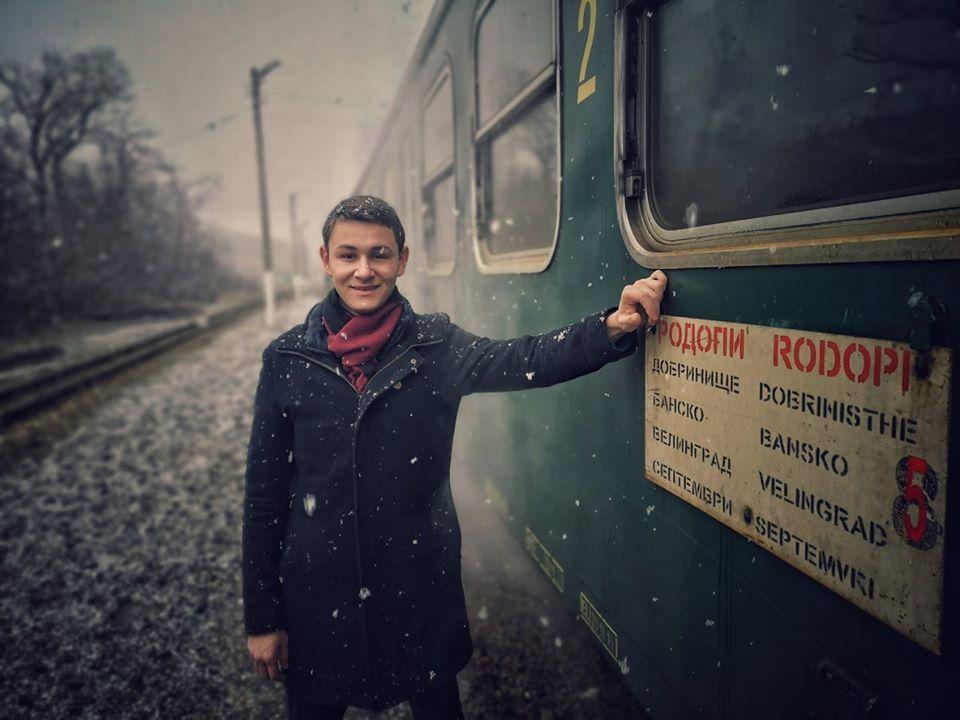 Кристиян Ваклинов говори за един влак така, сякаш е жив човек