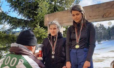 Приключи националното състезание по ски бягане за ученици с нарушено зрение