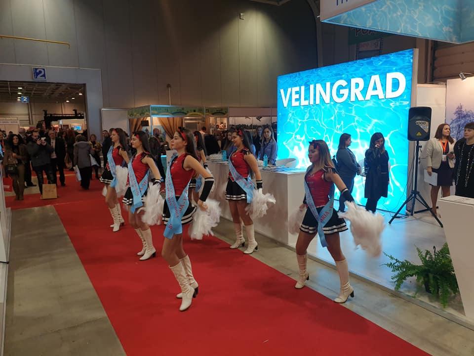 """Впечатляващо участие на Велинград в най-голямото туристическо изложение в България – """"Ваканция СПА Експо"""""""