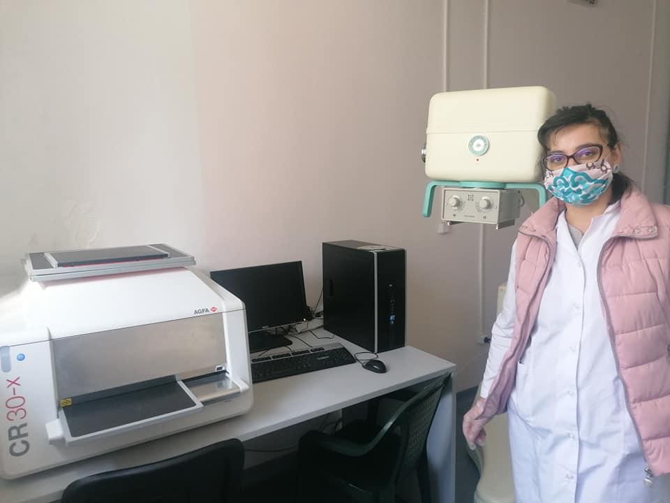 В МБАЛ-Велинград беше инсталирана новата CR- система за  дигитализиране на рентгенови снимки