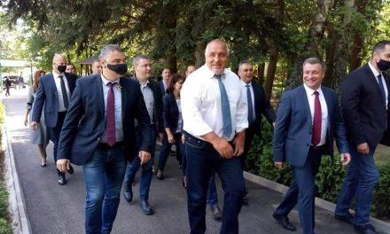 Премиерът Бойко Борисов бе на посещение в община Велинград
