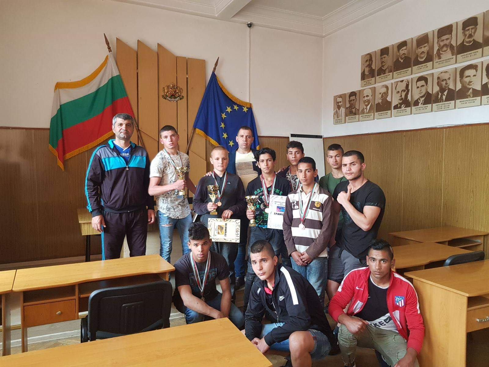 Наградиха състезателите в общинските ученически първенства по тенис на маса и шахмат в Ракитово