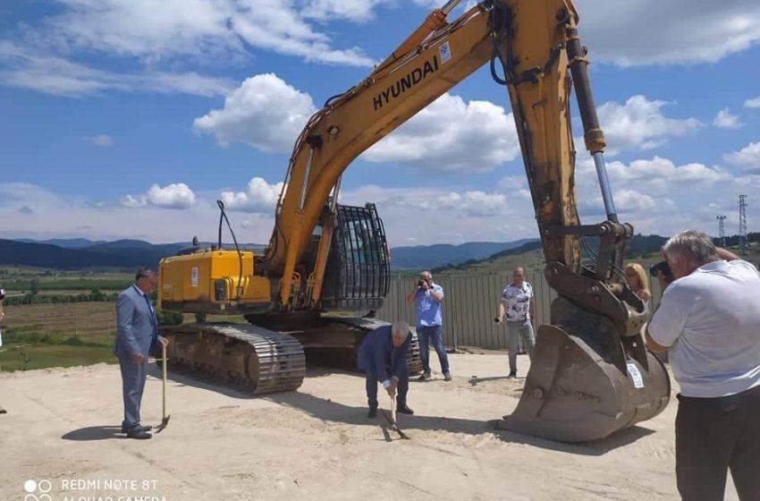 """От днес в местността """"Благовото""""  започва изграждането на две инсталации за преработване на отпадъци"""