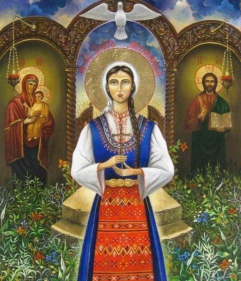На 18 октомври православната църква отбелязва деня на Св.вмчца Злата Мъгленска