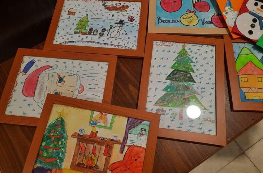 За Коледа децата от ОДК – Велинград изпратиха картички и рисунки до Община Велинград