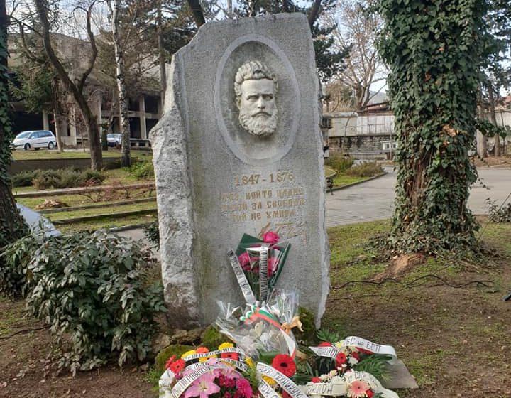 Велинград отбеляза 173 години от рождението на Христо Ботев на 6-януари-2021