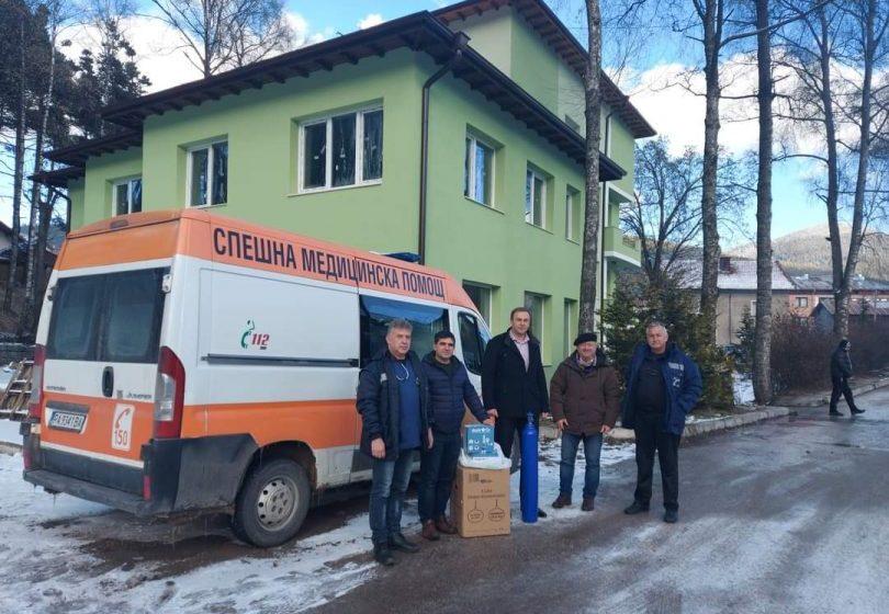 Община Сърница получи ценно дарение – медицинско оборудване за обдишване в спешната помощ