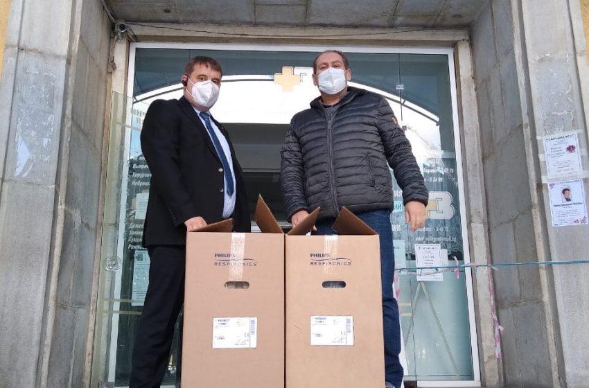 Министерство на здравеопазването предостави на МБАЛ-Велинград два кислородни концентратора