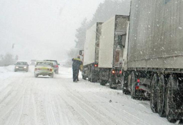 Обстановката в обл. Пазарджик се нормализира след снеговалежа в събота и неделя