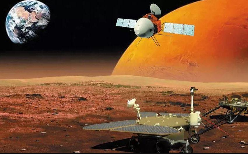Амбициозната китайска мисия Tianwen-1 успешно влезе в орбита около Марс