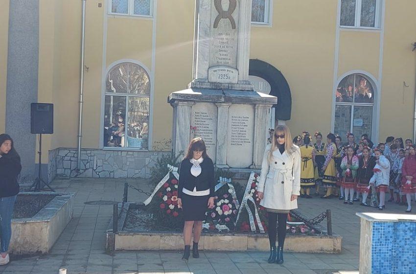 В гр. Ракитово се отбеляза тържествено 3 март