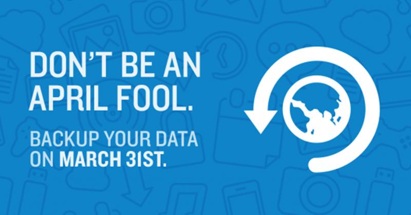 31 март – Международен ден на резервното съхранение на данни – бекъп