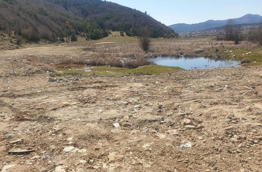 Отново бе констатирано нерегламентирано изхвърляне на отпадъци в почистения район по пътя за с. Драгиново