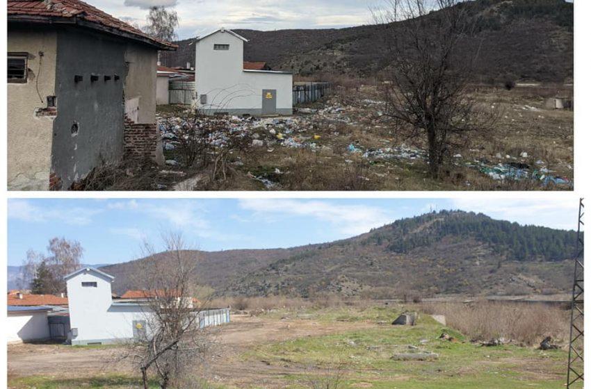 Почистването на нерегламентираните сметища на територията на Велинград продължава
