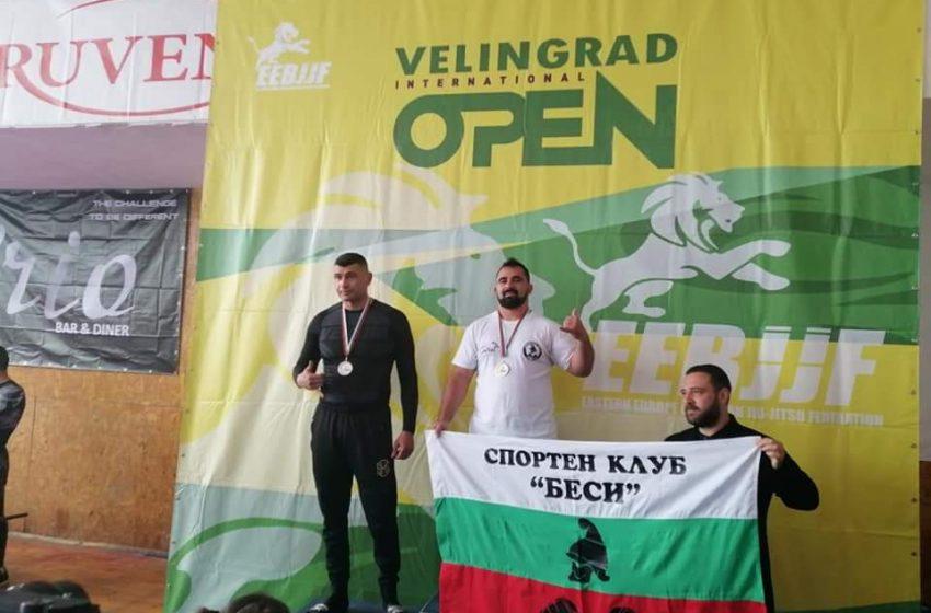 """Домакините от СК """"Беси"""" с второ място в отборното класиране на """"Velingrad spring open"""""""