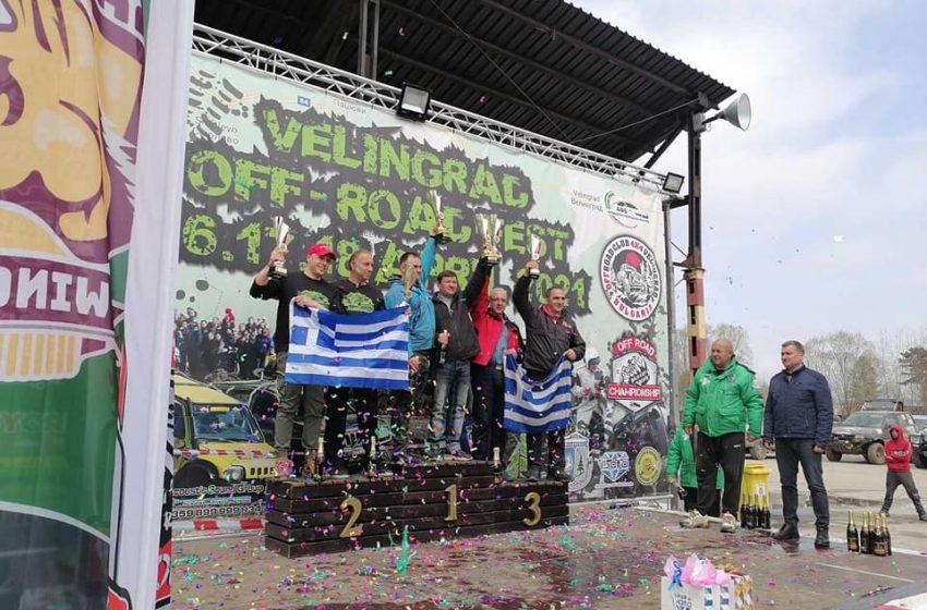 Кметът на община Велинград награди победителите в първия кръг от Националния шампионат по офроуд във Велинград