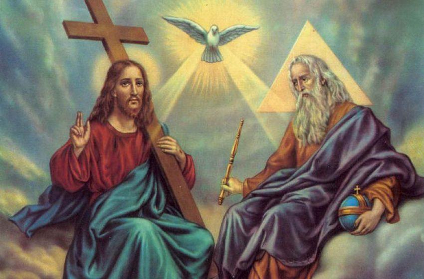 51 дни след Великден се чества Свети Дух – винаги в понеделник