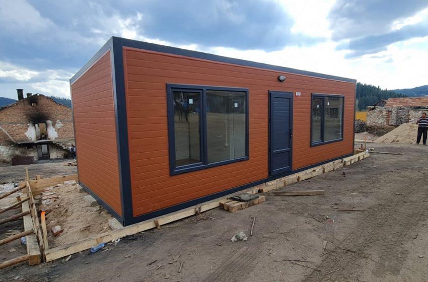 ГЕРБ-СДС и евродепутатите на ГЕРБ/ЕНП дариха преместваеми къщи за с. Кръстава