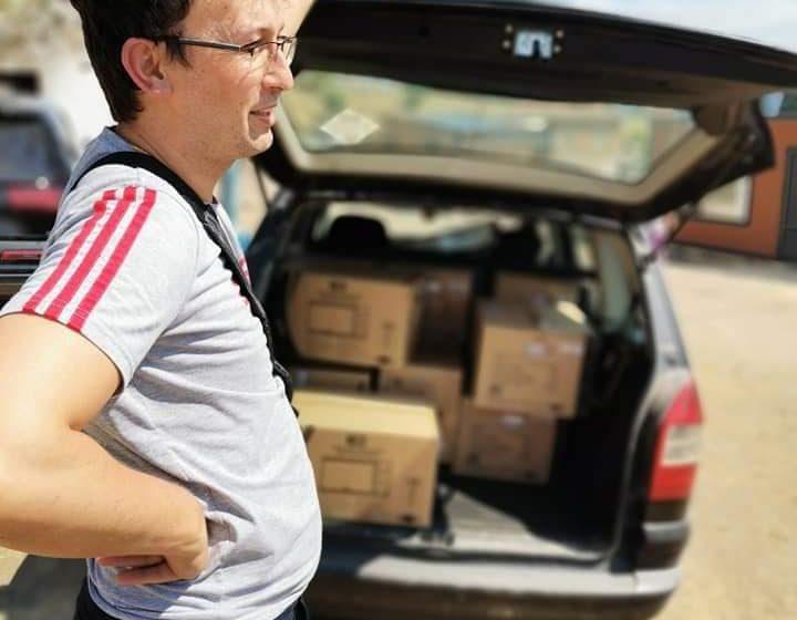 Семейство от с. Дорково дарява 13 микровълнови фурни за пострадалите в с. Кръстава
