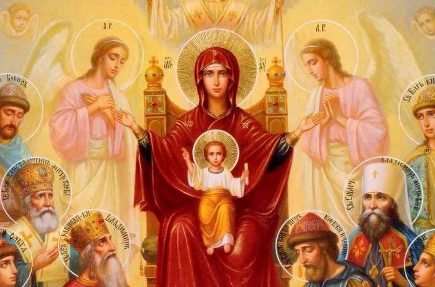 Най-светлият летен празник Голяма Богородица се чества на 15 август
