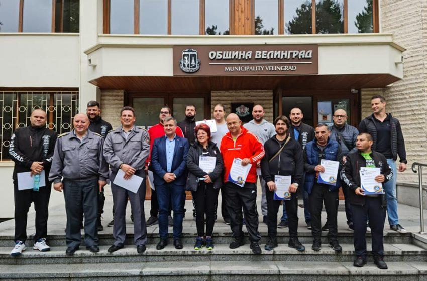 Община Велинград вече има Доброволци за реакция при бедствия