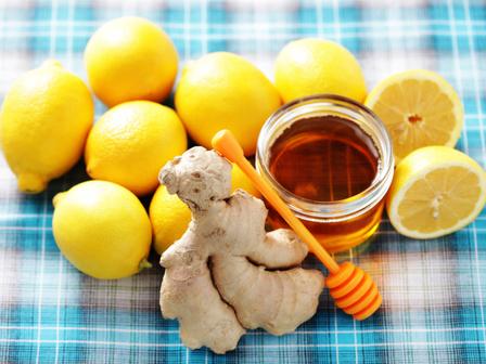 Естествен имуностимулатор – джинджифил мед и лимони